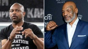 Mike Tyson and Roy Jones Eight Rounds