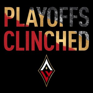 Wilson Powers her Las Vegas Aces to a Playoff Spot.