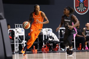 Bonner wills the shorthanded  Connecticut Sun to defeat Mystics.