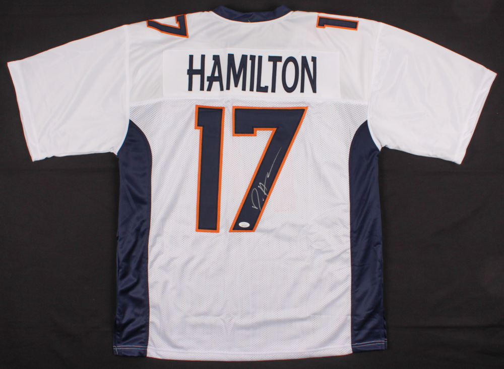 "DaeSean Hampton Signed Jersey Inscribed ""HOF 2002"" (JSA COA)"