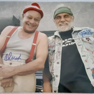 Cheech and Chong Autographed Photo