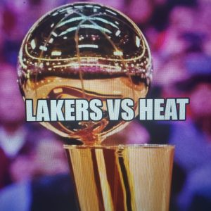 The Lakers and Heat will meet in NBA Finals