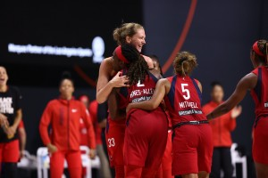 Mystics prevail against the Dream, advances to the playoffs