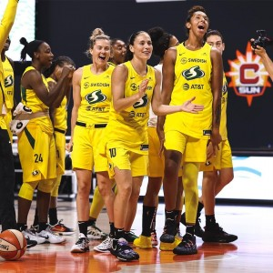 Seattle Storm back to the finals sweeps Minnesota