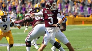 Mississippi State stuns LSU behind K.J Costello's record Setting day