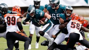 EAGLES TIE WITH BENGALS