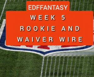 How well has your Rookie drafts and fantasy waiver pickups performed?