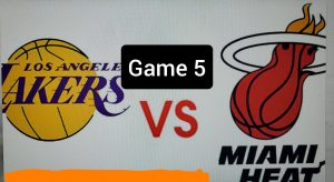 Lakers miss a chance, Miami takes Game 5