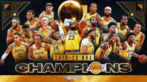 Lakers Are the 2020 NBA Champs