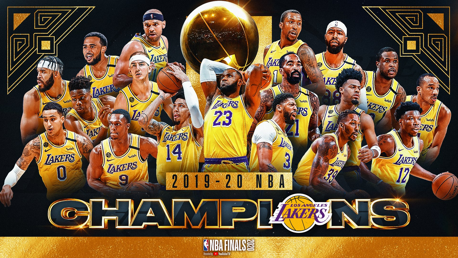 Lakers Are The 2020 NBA Champs The Everyday Fan